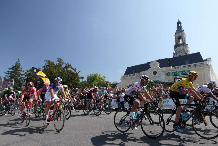 Tour de France palais beaumont