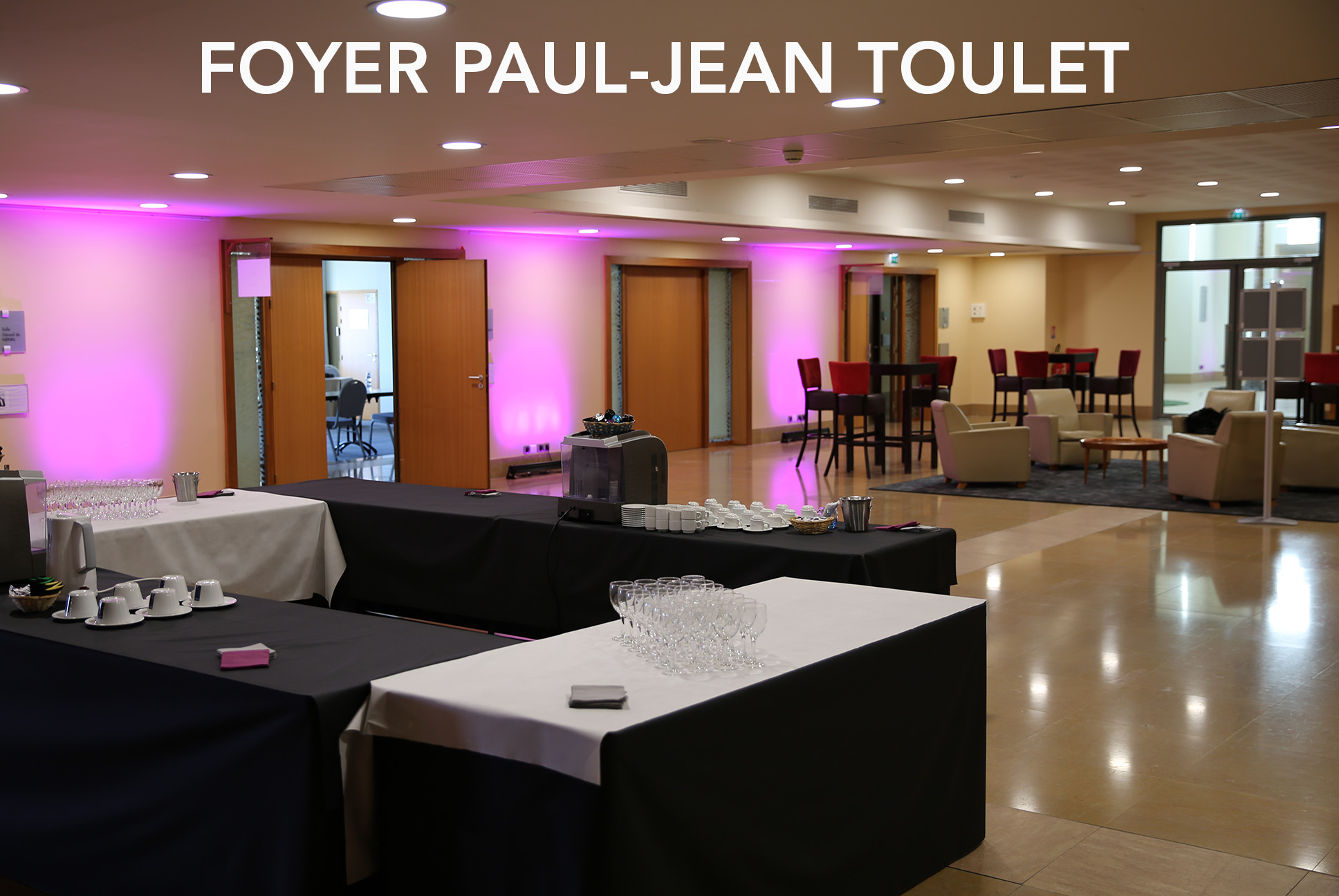 Foyer Paul-Jean Toulet Palais Beaumont Pau