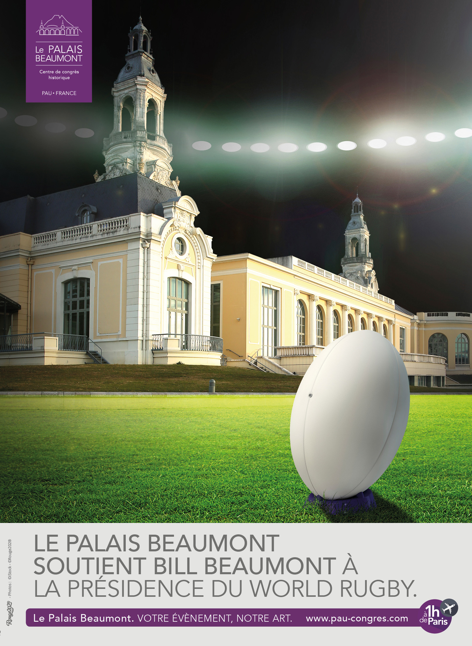 Le Palais Beaumont et Bill beaumont